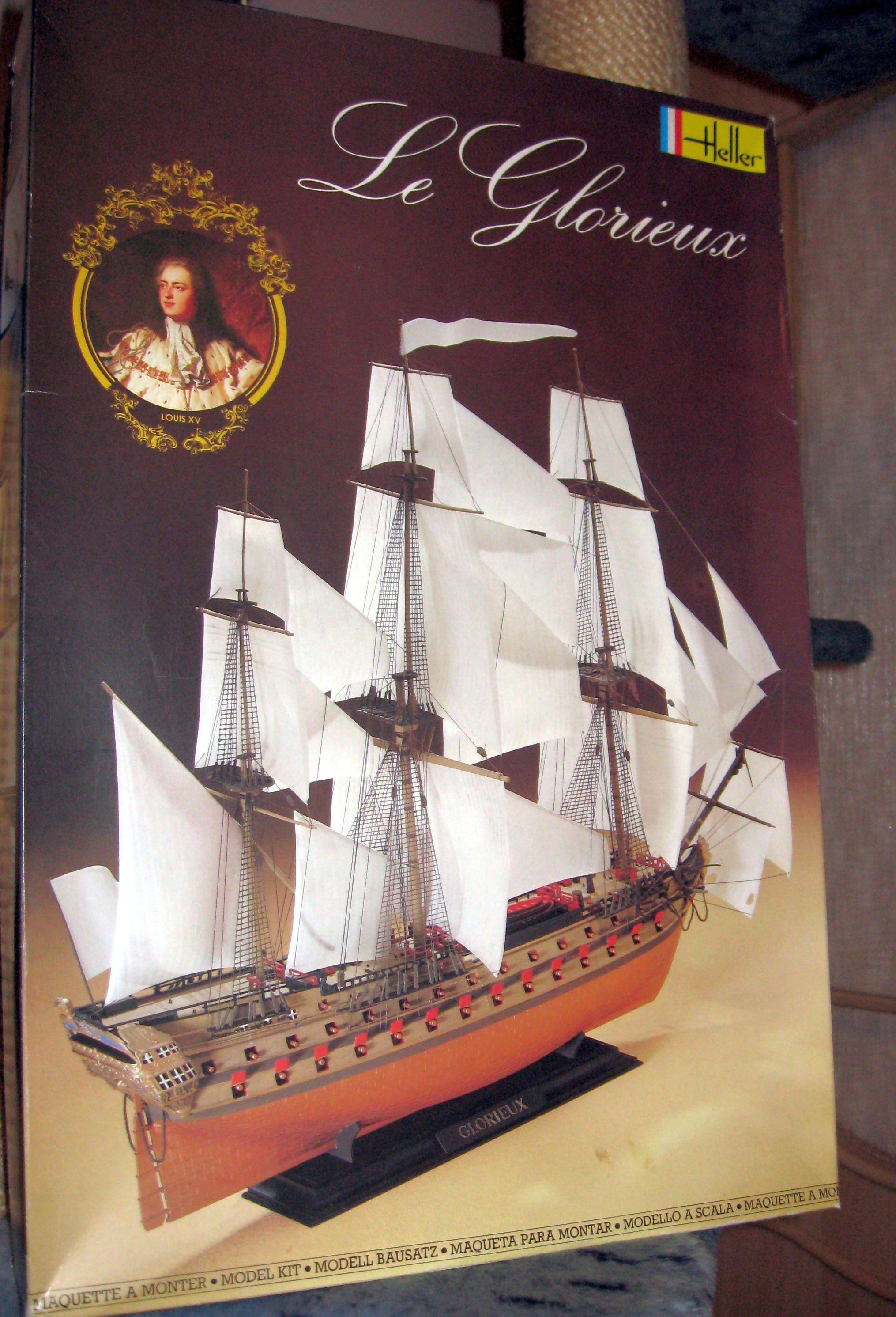 Le Glorieux - 1/150e - Heller  Img58e03cbfa5349