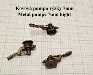 Product detailPumpe easy, metal, height 7mm