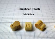 Product detailRamshead Block 8mm