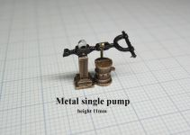 Product detailMetal single pumpe, height 11 mm