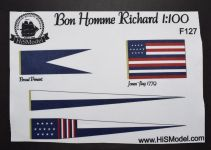 Product detailBonhomme Richard - set of flags