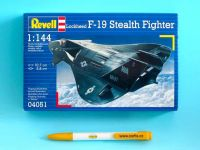 Product detailPlastic ModelKit letadlo 04051 - F-19 Stealth Fighter (1:144)