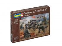 Product detailPlastic ModelKit military 02531 - German 7,5 cm PaK40 & soldiers (1:72)