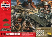 Product detailGift Set diorama A50009 - D-Day Battlefront (1:76)