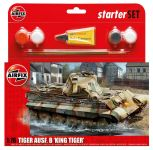 Product detailStarter Set tank A55303 - King Tiger Tank (1:76)