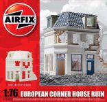 Product detailClassic Kit budova A75003 - European Corner House Ruin (1:76)