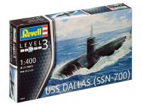 Product detailPlastic ModelKit ponorka 05067 - US Navy Submarine USS Dallas (1:400)