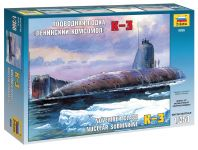 Product detailModel Kit ponorka 9035 - Nuclear Submarine K-3 (1:350)