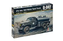 Product detailModel Kit military 0201 - 2 1/2 Ton, 6x6 Water Tank Truck (1:35)