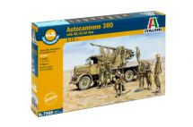 Product detailFast Assembly military 7508 - Autocannon Ro3 with 90/53 AA gun (1:72)