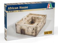 Product detailModel Kit budova 6139 - African House (1:72)