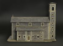 Picture for the product 5110 - Model Kit diorama 6174 - CHURCH (1:72)