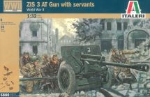 Product detailModel Kit figurky 6880 - WWII ZIS 3 AT GUN with crew (1:32)