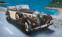 Product detailModel Kit auto 3701 - MERCEDES BENZ 540K (1:24)