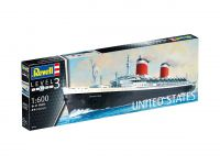 Product detailPlastic ModelKit loď 05146 - SS United States (1:600)