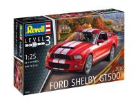 Product detailPlastic ModelKit auto 07044 - 2010 Ford Shelby GT 500 (1:25)