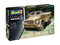Product detailPlastic ModelKit military 03271 - Horch 108 Type 40 (1:35)