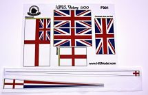 Product detailVictory - set of flags for HMS Victory Heller 1:100