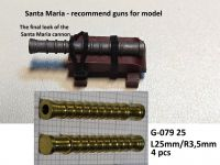 Product detailSanta Maria - set of 4 guns