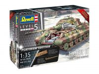 Product detailPlastic ModelKit tank Limited Edition 03275 - TIGER II Ausf. B - Full Interior (Platinum Edition) (1:35)