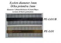Product detailEyelets diameter 1mm/w.0,2mm/50pcs