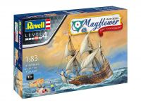 Detail k výrobku Gift-Set loď 05684 - Mayflower 400th Anniversary (1:83)