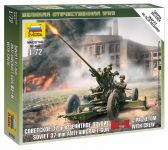 Product detailWargames (WWII) figurky 6115 - Soviet Anti-Aircraft Gun 61-K with Crew (1:72)